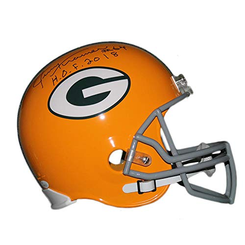 Red Tag Event: Jerry Kramer Green Bay Packers Autographed Full Size Replica Foot - Autographed NFL Helmets