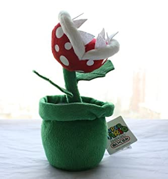 Piranha Plant Plush Doll Super Mario Brother Soft Toy Stuffed Animal Doll  Flower