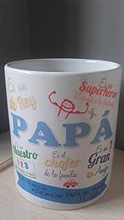 Taza Papá (diseño1) regalo día del padre