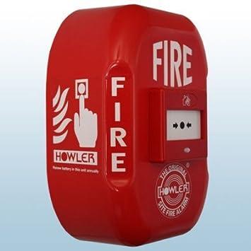Howler FA16 - Pulsador de alarma de incendios (funciona con ...