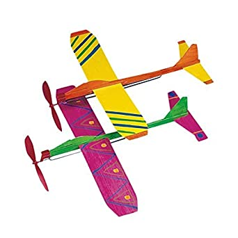 geeperz cf-2774 neón hélice aviones Kit de manualidades (Pack de 12): Amazon.es: Amazon.es