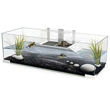 Tortuguera 80x30x30cm con Plataformas Acuario Tortugas de Agua: Amazon.es: Productos para mascotas