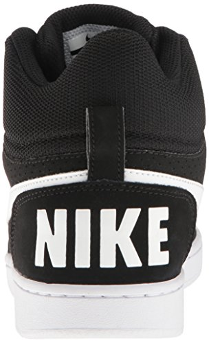 Basket Donna Nike white Wmns Nero Mid Court black Da Borough 010 Scarpe FOqYw0F