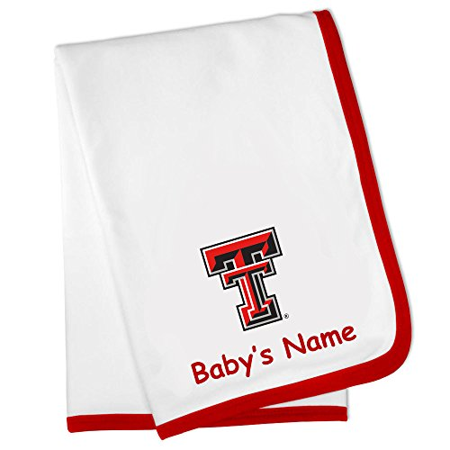 Future Tailgater Texas Tech Red Raiders Custom Personalized Baby Blanket