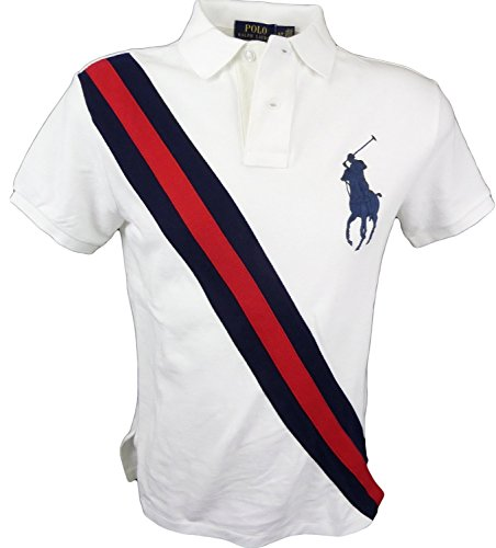 Polo Ralph Lauren Men's Custom Fit Big Pony Logo Polo Shirt SMALL