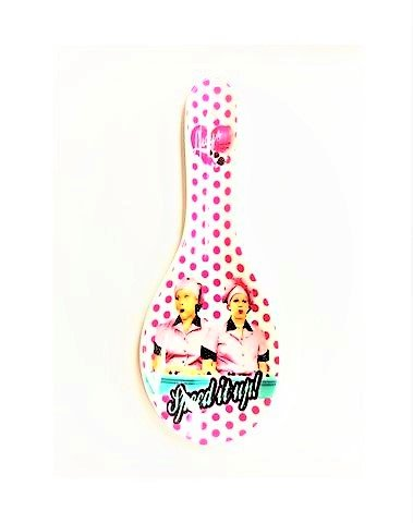 I Love Lucy Chocolate Factory Spoon Rest - For Kitchen Or Collectible Shelf