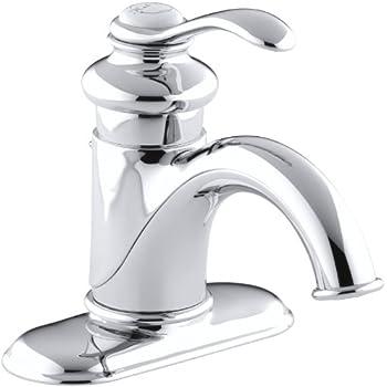KOHLER K-12266-4-CP Fairfax Centerset Lavatory Faucet, Polished ...