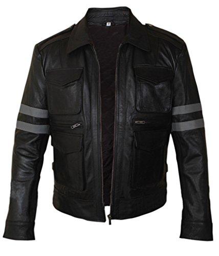 Men's amp;h Leon Resident Kennedy Black Evil F Jacket pav5TRqff