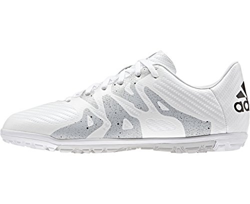 adidas Kinder Fussballschuhe X 15.3 TF Jr ftwr white/core black/silver met. 36 2/3