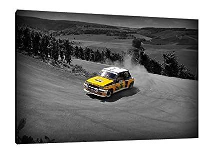 Renault 5 GT Turbo Rally - 30 x 50,8 cm cuadro de la impresión