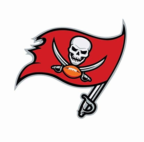 Tampa Bay Buccaneers car Decal | 3 Size NFL Football Color Logo Sports | Tampa Bay Buccaneers Stickers (3 inch)