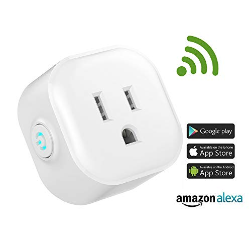 Igreli mini smart plug,Remote Control wifi Outlet with Timing Function and no hub required, Works with Alexa and Google Assistant,- 1 Pack by Igreli (Image #5)