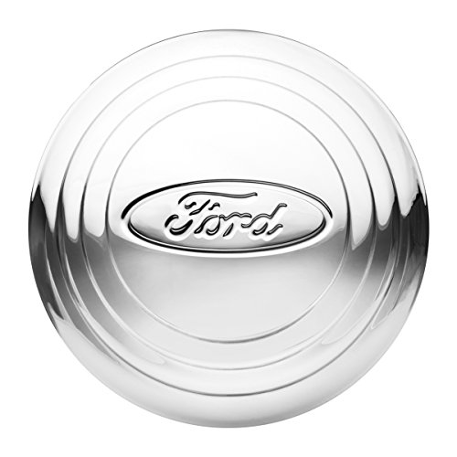 KNS Accessories KA8013 Center Cap (1932-1933 Stainless Steel Wire Wheel, Ford Script Oval Logo) (Hubcap Wire)