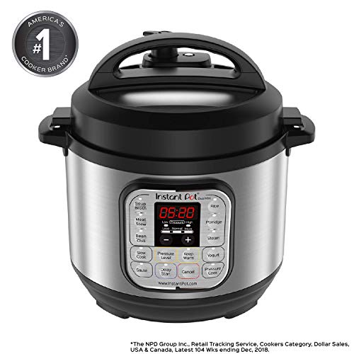 Instant Pot Duo Mini Multi-Use Programmable Pressure Cooker, Slow Cooker, Rice Cooker, Steamer, Sauté, Yogurt Maker and Warmer (Certified Refurbished)