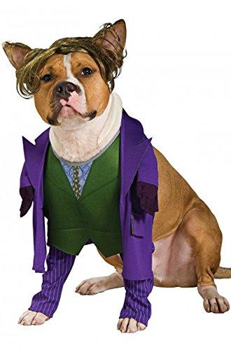 Batman The Dark Knight Joker Pet Costume, (The Girl Joker Costume)