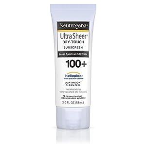 Neutrogena Ultra Sheer Dry-Touch Sunscreen Broad Spectrum Spf 100