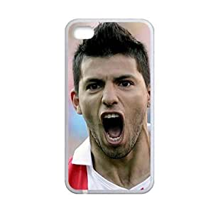 Generic Custom Design With Sergio Aguero Creative Back Phone Case For Children For Apple Iphone 4S 4 Th Choose Design 4