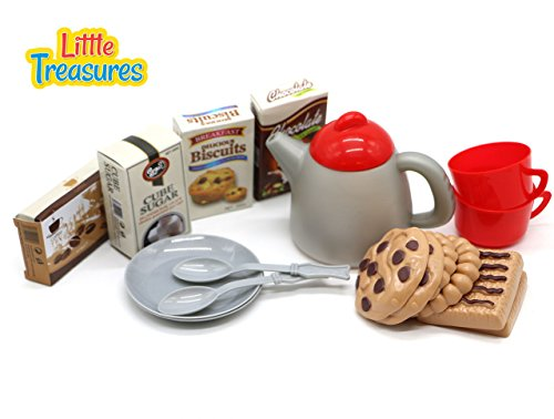 - Little Treasures Afternoon Tea Time Play Snack Toys