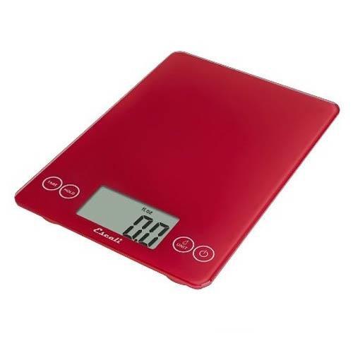 Escali Arti Glass Digital Kitchen Scale – 15 lb. / 7 kg.