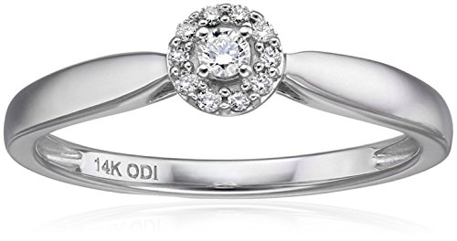 Diamond Halo Ring - 3