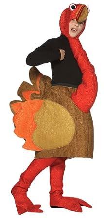 Amazon.com: Turkey Halloween Costume,Size 7-10: Clothing