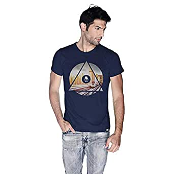 Creo Dubai T-Shirt For Men - Xl, Navy Blue