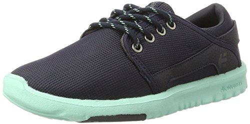 Etnies Womens Scout Sneaker Blue/White/Navy clearance lowest price cheap low cost discount Manchester deals cheap online cheap sale find great JhLAF7U