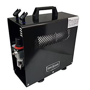 Badger Air-Brush Co. TC910 Aspire Pro Compressor,Black 5
