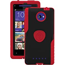 Trident Case AEGIS Series for HTC 8X - Retail Packaging - Red