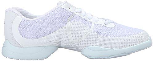 Bloch Dance Womens Troupe Dance Sneaker White C8Sr5lIXv