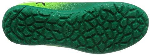 Adidas x 16.3TF J–Chaussures montantes de fútbolpara enfants, vert–(Versol/negbas/verbas), -28
