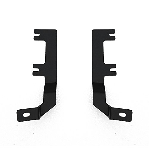 ZROADZ 2009-2016 DODGE  RAM 1500 Z364521 Black Hood Hinges A-Pillar LED Mount Dodge Ram Hood Hinges