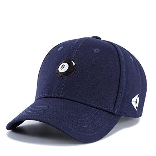 Hop Llxln Bola Billar Snapback Hip Sombrero Gorras Mujeres Hombres Casqutte Azul Béisbol De Algodón De Nº8 para De Gorras Bordado Tapa Gorra rFtrxXU