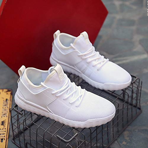 JERFER Shoes Red White Woven Shoes Black Women Sneakers Sport 36 40 White Couples Breathable Casual Shoes rqwr0x4gB