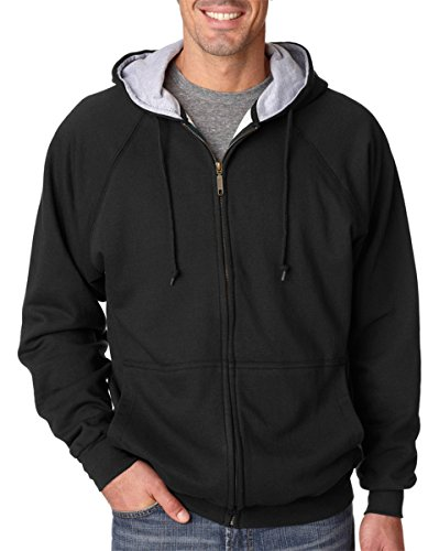 UltraClub Rugged Thermal Lined Full Zip Jacket