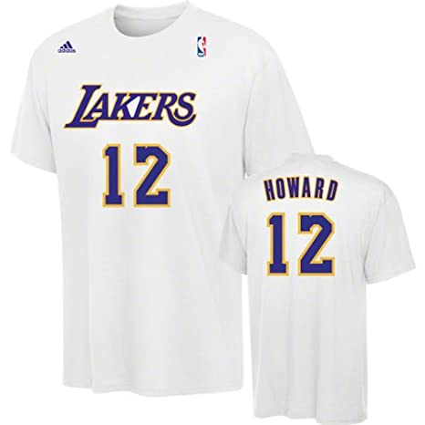 adidas NBA Los Angeles Lakers Dwight Howard Reproductor Camiseta – Blanco