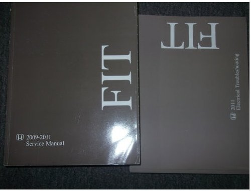 2011 honda fit service manual - 2