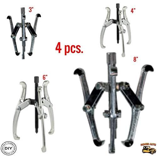 (3 Jaw Gear Puller Set, 4 Piece Universal Set 3