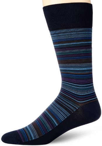 Perry Ellis Multi Stripe Mercerized Cotton