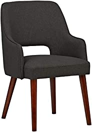 "Amazon Brand – Rivet Contemporary Cut-Out Dining Chair, 33""H, P"