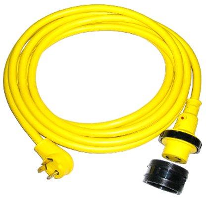 Conntek 14350-25 30Amp NEMA TT-30P to NEMA L5-30R RV Power Cord, 25-Foot