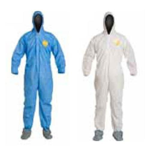 Proshield Coverall 1 (DuPont DuPonta 251-PB125S With 2XL Proshield Basic Coverall White With Elastic Wrists and Ankles)
