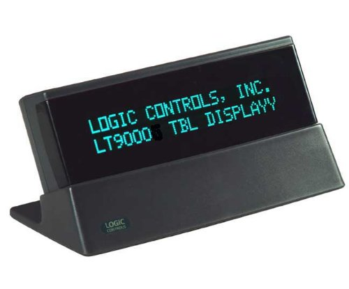 Logic Controls Tabletop Display - 9.5MM, 2X20, USB, Port Powered, Universal Command Set, Gray (150405A)