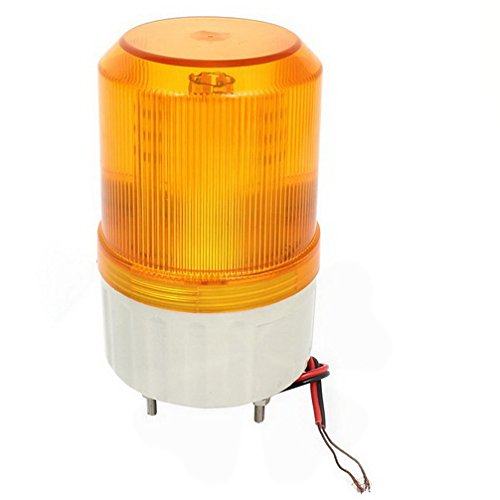 DC24V LED Flash Industrial Signal Tower Safety Stack Light Yellow Lamp by Fuxell