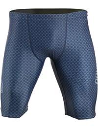 Men's AquaGenesis-V2 Training Jammer | Practice Swimsuit w/Full Inside Liner | Comfortable & Secure Fit | Sizes: 28-36