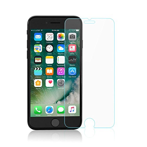 iPhone 7 Plus 8 Plus Screen Protector Glass, GerTong 9H HD 2.5D Full Coverage Tempered Glass Screen Protector Toughened Glass Film for Apple iPhone 7 Plus iPhone 8 Plus 5.5 Inch (1 Pack)