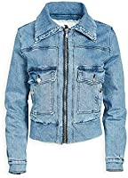 Jordache Women's Roll Collar Jacket