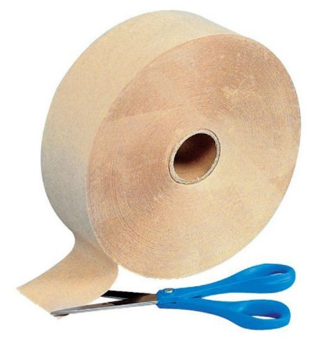 Gummed Kraft Paper Tape - 2.5 Inches x 600 Feet