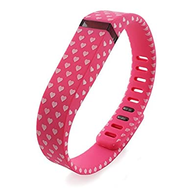 2015 Latest Band Set For Fitbit Flex, Replacement bands Set, Water Transfer Printing Set With Metal Clasps for Fitbit Flex Activity Tracker(Large)