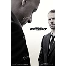 """Posters USA Fast and Furious 7 Movie Poster GLOSSY FINISH - MOV284 (24"""" x 36"""" (61cm x 91.5cm))"""